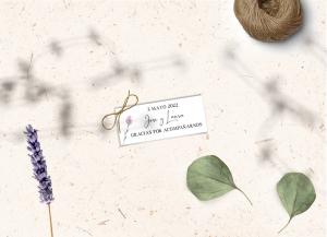 Etiqueta boda Colección Lavender Love&Fest