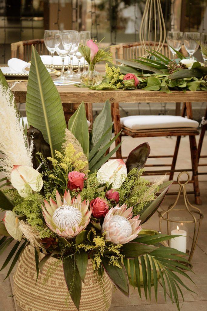 Decoración floral LOVE&FEST
