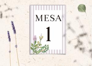 Mesero Colección Lavender Love&Fest