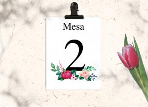 Mesero Colección Peony Love&Fest