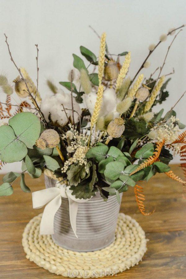 cubo flores preservadas shop Love&Fest