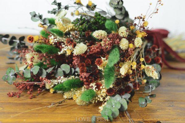 Ramo flores preservadas LOVE&FEST