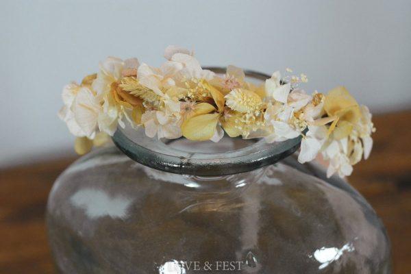 Corona flores preservadas niña LOVE&FEST