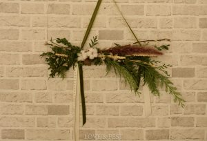 Colgante Navidad natural LOVE&FEST