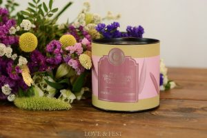 Pack ramo flores y té LOVE&FEST