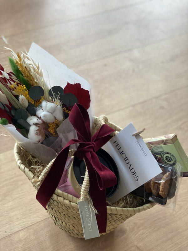 Cesta regalo gourmet