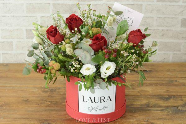 Sombrerera flores LOVE LOVE&FEST